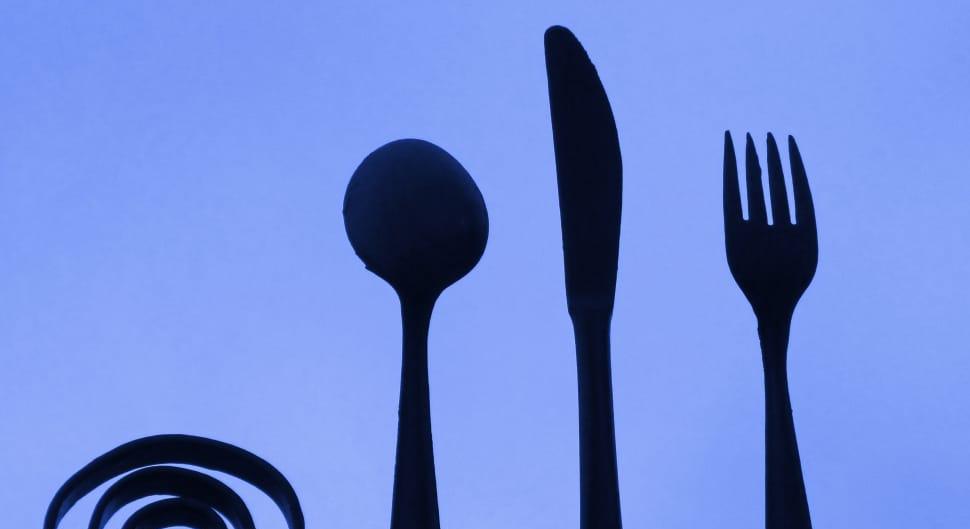 Cutlery forging restaurant wallpaper preview