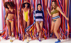 Browse partner p 1 aerieand8217s new swimwear line is made from 1m recycled plastic bottles