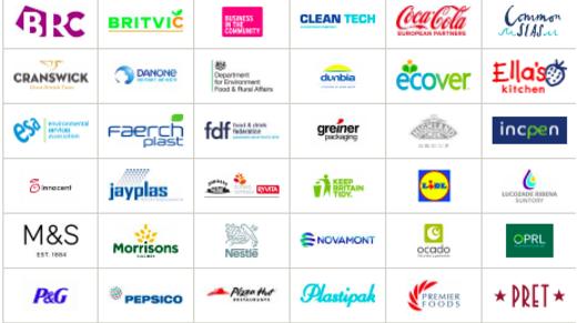 Partner show uk plastics pact members