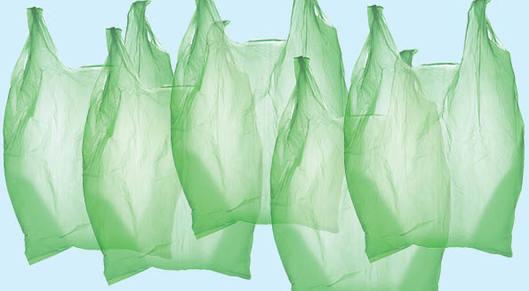 Partner show 14 plastic bags 1