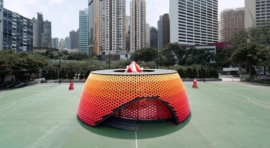 Partner show wishing pavilion mid autumn festival daydreamers design hong kong dezeen hero 1024x576