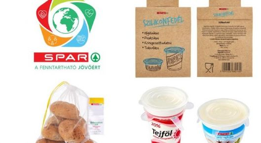 Partner show spar hungary introduces eco friendly packaging solutions