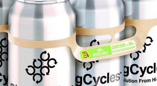 Partner show hi cone recycling label