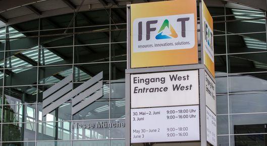 Partner show ifat eingang west